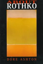 Cover of: About Rothko | Dore Ashton