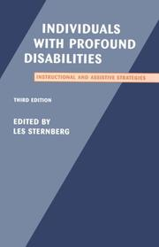 Cover of: Individuals With Profound Disabilities