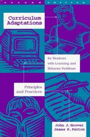 Cover of: Curriculum adaptations for students with learning and behavior problems