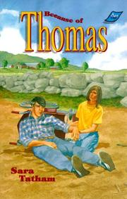 Cover of: Because of Thomas