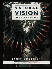 Cover of: Natural Vision Improvement