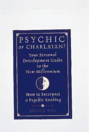 Cover of: Psychic or charlatan?
