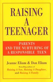 Cover of: Raising a teenager