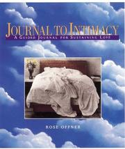 Cover of: Journal to Intimacy