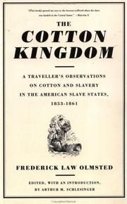 Cover of: The cotton kingdom