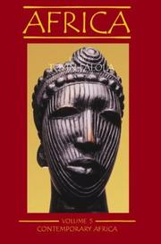 Cover of: Africa, vol. 5: Contemporary Africa (Africa, Vol 5)