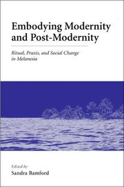 Cover of: Embodying modernity and postmodernity |