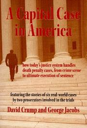 Cover of: A capital case in America