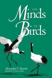 Cover of: The minds of birds