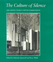 Cover of: The Culture of Silence |