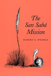 Cover of: The San Sabá Mission