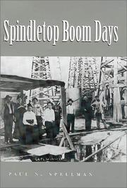 Cover of: Spindletop boom days