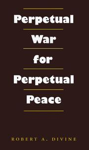 Cover of: Perpetual war for perpetual peace