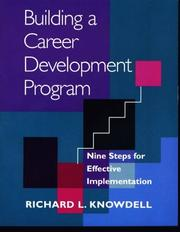 Cover of: Building a career development program