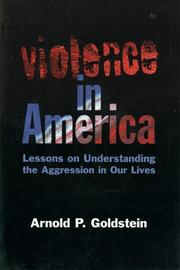 Cover of: Violence in America