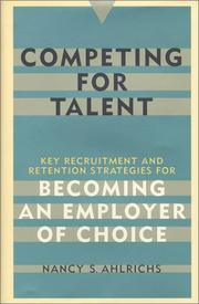 Cover of: Competing for Talent | Nancy S. Ahlrichs