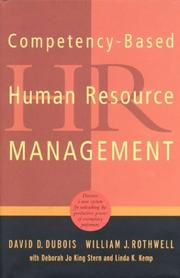 Cover of: Competency-Based Human Resource Management