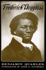 Frederick Douglass by Benjamin Quarles
