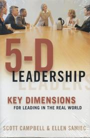 Cover of: 5-D Leadership | Scott Campbell