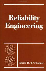 Cover of: Reliability Engineering (Proceedings of the Arab School on Science and Technology) | P. O