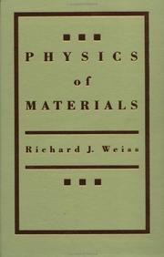 Cover of: Physics of materials