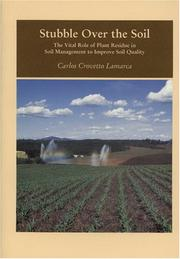 Cover of: Stubble over the soil