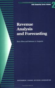 Cover of: Revenue Analysis and Forecasting | Barry Blom