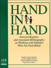 Cover of: Hand in hand |