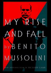 Cover of: My rise and fall