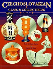 Cover of: Czechoslovakian glass & collectibles | Dale Barta