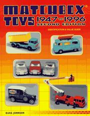 Cover of: Matchbox toys, 1947 to 1996