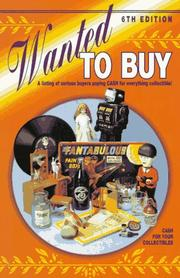Cover of: Wanted to buy |