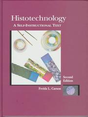 Cover of: Histotechnology | Freida L. Carson