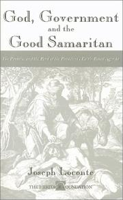 Cover of: God, Government, and the Good Samaritan | Joe Loconte
