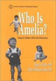 Cover of: Who is Amelia?
