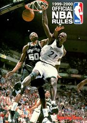 Cover of: Official Rules of the National Basketball Association, 1999-2000 (Serial)