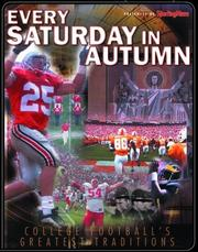 Cover of: Every Saturday in autumn