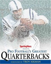 Cover of: Sporting News Selects Pro Football's Greatest Quarterbacks