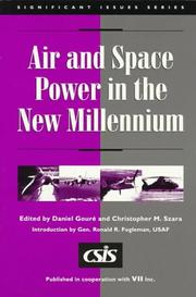 Cover of: Air and space power in the new millennium |