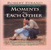 Cover of: Moments for Each Other (Moments for Series) | Robert Strand