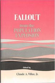 Cover of: Fallout from the population explosion