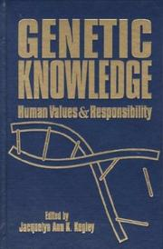 Cover of: Genetic Knowledge