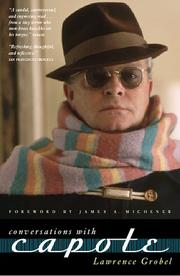 Cover of: Conversations with Capote