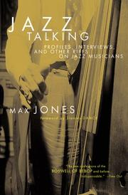 Cover of: Talking jazz | Max Jones