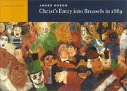 Cover of: James Ensor