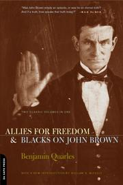 Cover of: Allies for Freedom and Blacks on John Brown