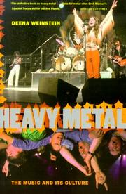 Cover of: Heavy metal