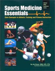 Cover of: Sports Medicine Essentials | Jim Clover