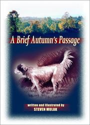 Cover of: A brief autumn's passage