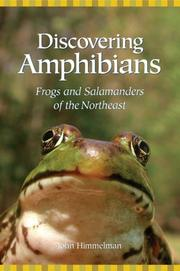 Cover of: Discovering amphibians: frogs and salamanders of the Northeast